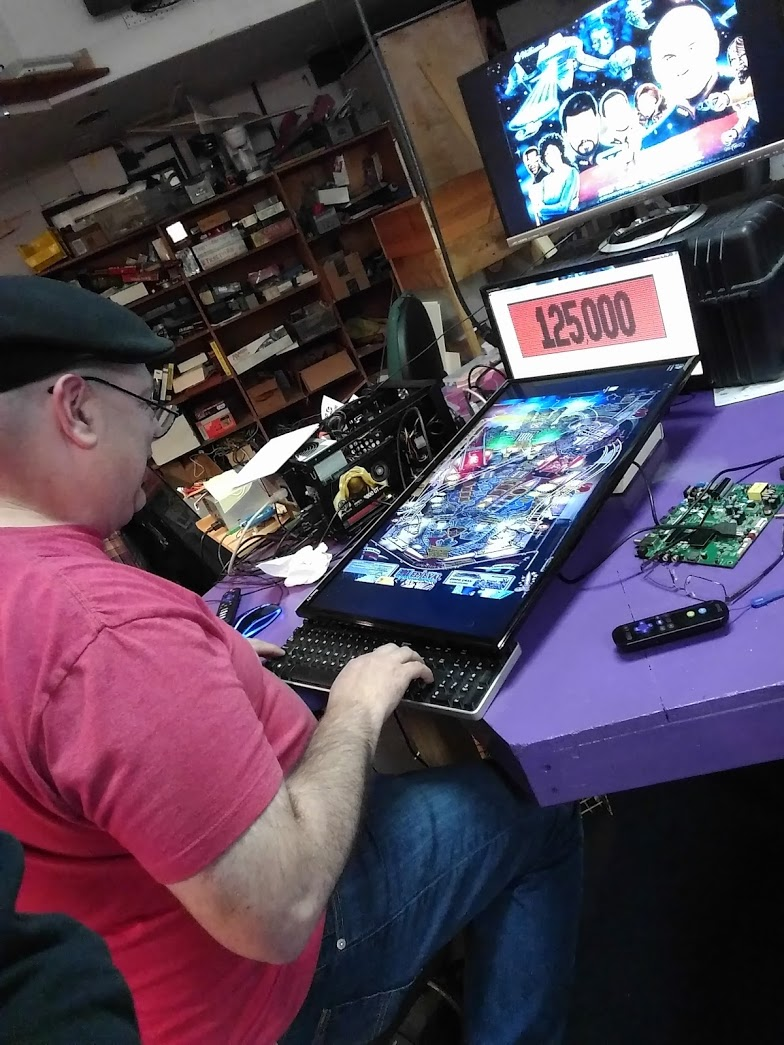Virtual Pinball Update - Canton Hacker and Maker Place